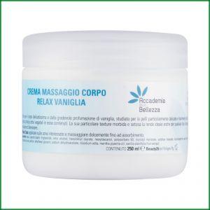 Crema massaggio corpo relax vaniglia 250 ml