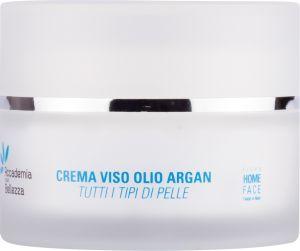 Crema viso olio argan tutti tipi di pelle 50 ml