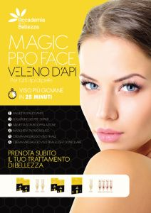 2014 A2 Magic Face Cartello Vetrina