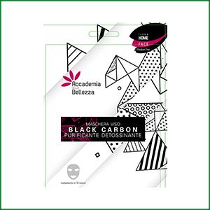 Maschera Viso TNT Black Carbon Detossinante